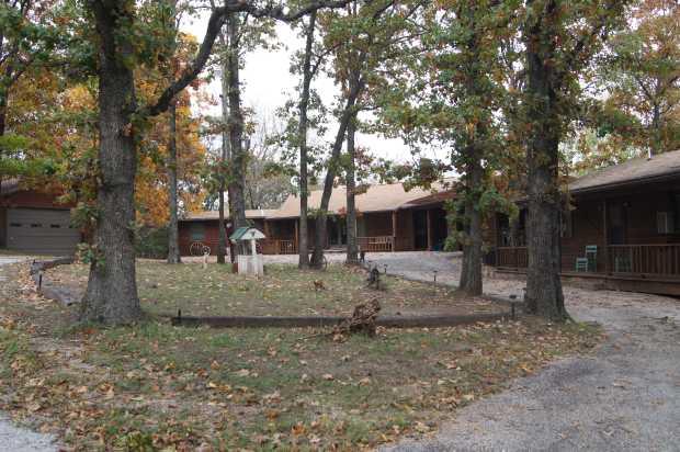 House, cabin, garage, Caro Drive